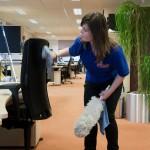 wij zorgen voor een schone werkplek